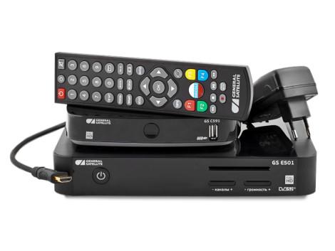 Система для приема цифрового спутникового телевидения GS E501 / GS C5911 фото 0