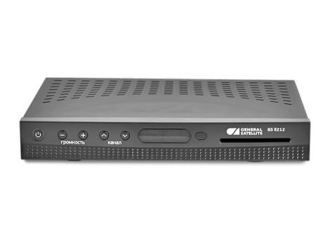 Цифровой комбинированный HD-приемник GS E212 фото 0